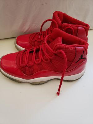 Nike Air Jordan XI Retro 11 WIN LIKE '96 Gym Red Youth 4Y. for Sale in Takoma Park, MD