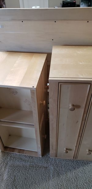 Twin captains bed frame for Sale in Sumner, WA