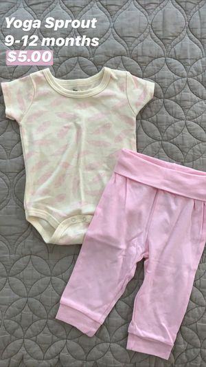 Yoga Sprout Baby Onesie and Pants for Sale in Seattle, WA