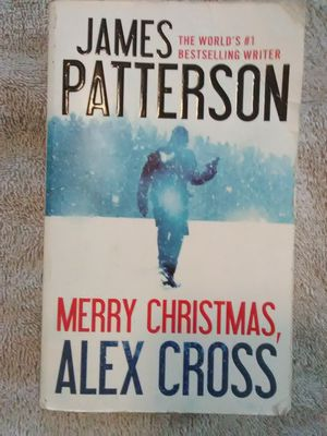 Merry Christmas Alex Cross by James Patterson for Sale in Queen Creek, AZ