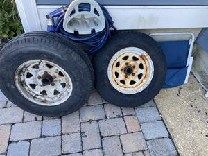 Two (2) F78-14 trailer Tires for Sale in Berkeley Township, NJ