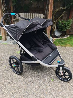 Thule Urban Glide 2 Double Stroller for Sale in Tacoma, WA