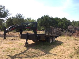 16 Foot Gooseneck Trailer for Sale in Abilene, TX