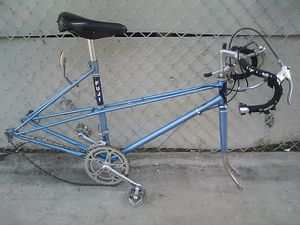 Vintage Fuji bike frame for Sale in Los Angeles, CA