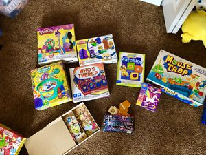 Games puzzles playdough for Sale in OH, US