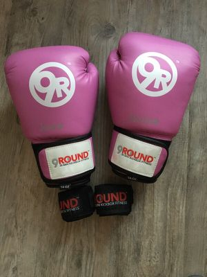 9Round Boxing Gloves and wraps for Sale in Atlanta, GA