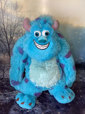"Build A Bear Sully Monster's 19"" University from Disney Pixar. for Sale in Bellflower, CA"