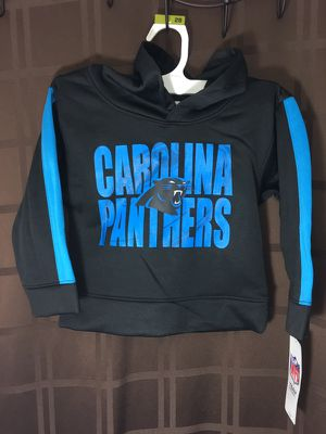 NWT Carolina panthers hoodies 3T for Sale in Durham, NC