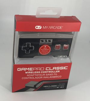 New Gamepad Classic Wireless Controller NES Classic Edition for Sale in Clinton, MD