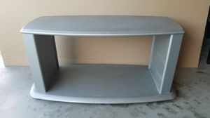 TV Stand Light Gray, Used and in Good Condition! Very Strong and Durable with a Reasonable Price! for Sale in Las Vegas, NV