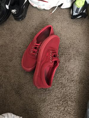 Red vans for Sale in Cabot, AR