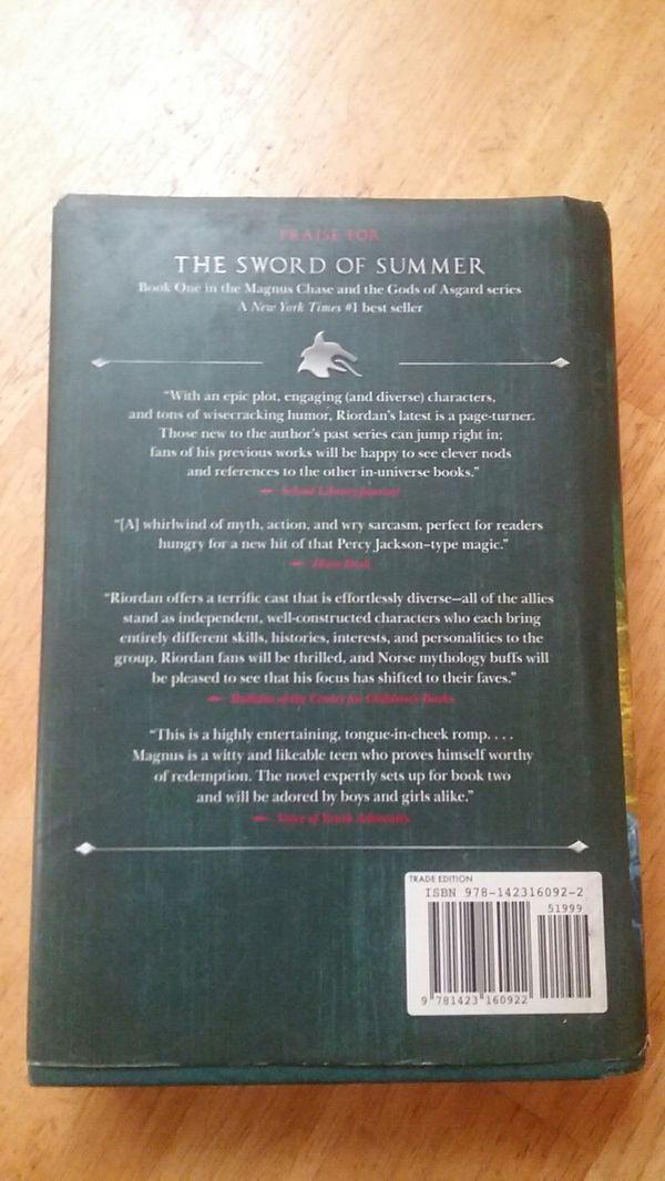 Rick Riordan: Magnus Chase and the Gods of Asgard (bk 2)
