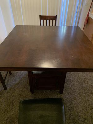 Wood High Top Table for Sale in Fresno, CA