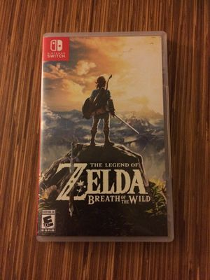The Legend of Zelda: Breath of the Wild for the Nintendo Switch for Sale in Denver, CO