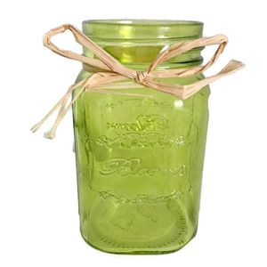Shabby Chic Green Mason Jar Flower Vase Blooms for Sale in Palmetto, FL