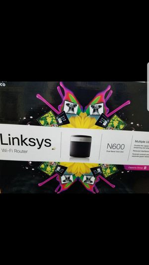 Linksys N600 Wi-Fi router for Sale in Miami, FL