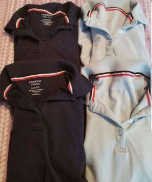 Girls school uniform shirts/ tops/ blouses/ clothes/ kids / back to school / uniforme de niña / escuela for Sale in Phoenix, AZ