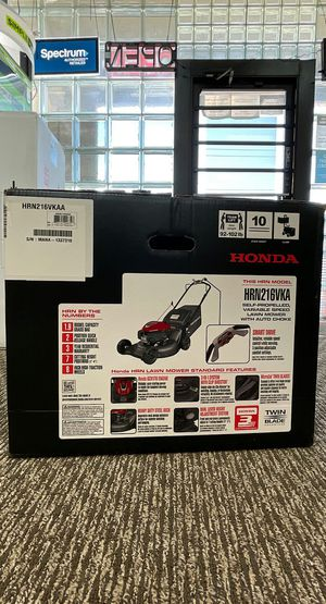 21 in. 3-in-1 Variable Speed Gas Walk Behind Self Propelled Lawn Mower with Auto Choke Brand New for Sale in Arlington, TX