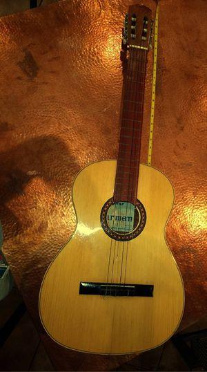 Vintage PG TG Carmen Flamenco Parlor Classical Nylon Acoustic Guitar Spain Amber Honey for Sale in Alexandria, VA