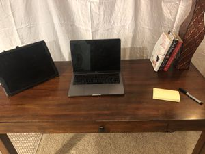 Wooden desk for Sale in Fairview, PA