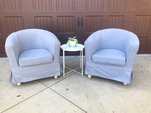 Chairs - both 100 for Sale in Los Angeles, CA