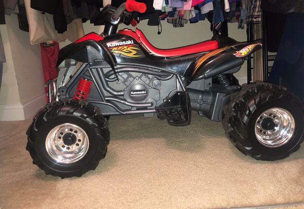 Power Wheels Hot Wheels KFX 12-Volt Battery Powered Ride-on -for kids