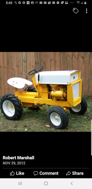 Vintage Cub Cadet garden tractor for Sale in Crystal City, MO