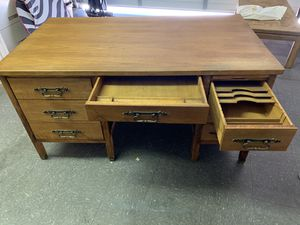 Antique wood desk - circa 1930 for Sale in Henderson, NV