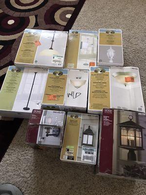 Multiple lights open box each one 15$ for Sale in Las Vegas, NV
