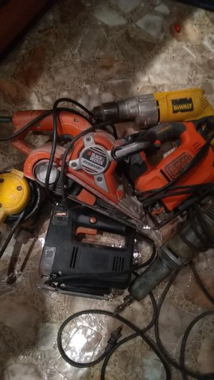 Assortment of electrica tools for Sale in Orange, TX