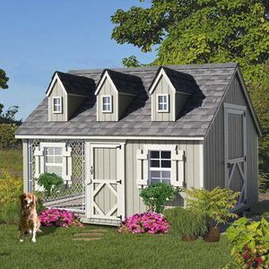 Beautiful new Cape Cod Cozy Cottage Kennel dog house/playhouse only 2,500$!!!! Original price 5,790$!!!! for Sale in San Leandro, CA