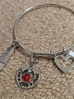 Nurse Charm Bracelet for Sale in University Place,  WA