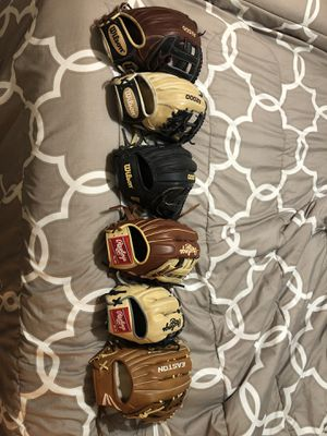 Baseball gloves for Sale in Longmont, CO