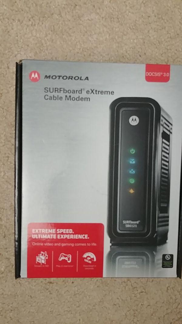Motorola SURFboard eXtreme docsis 3.0 cable modem