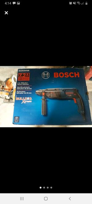 Bosch bulldog extreme sds plus hammer drill for Sale in NO HUNTINGDON, PA