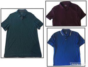 Men's Shirt Bundle Van Heusen Chaps Croft & Barrow Large for Sale in San Antonio, TX