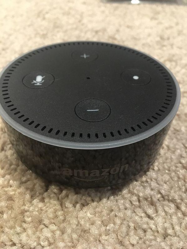 Echo Dot (2nd Gen) Smart Speaker with Alexa - Black