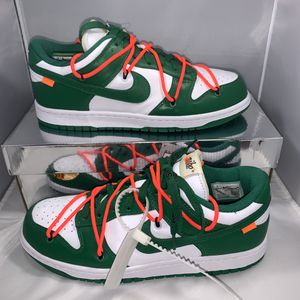 Off-White x Nike Dunk Low 'Pine Green' Size 8.5 for Sale in Orange, CA