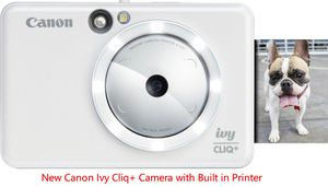 New Canon Ivy Cliq+ Camera with Built in Printer for Sale in Greenbelt, MD