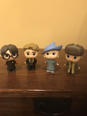 Harry Potter Triwizard Champions Funko Mystery Minis for Sale in Centreville, VA
