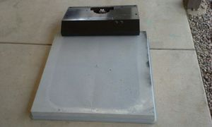 Swamp cooler base and brand new kitchen hood in good condition for Sale in Phoenix, AZ