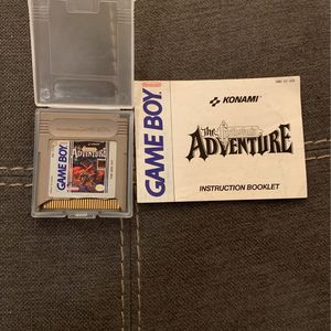 **Damaged** Castlevania With manual For Gameboy for Sale in Oakton, VA