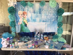 Frozen decorations for Sale in Rialto, CA
