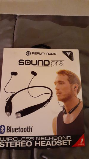 Sound pro wireless headset for Sale in Colorado Springs, CO