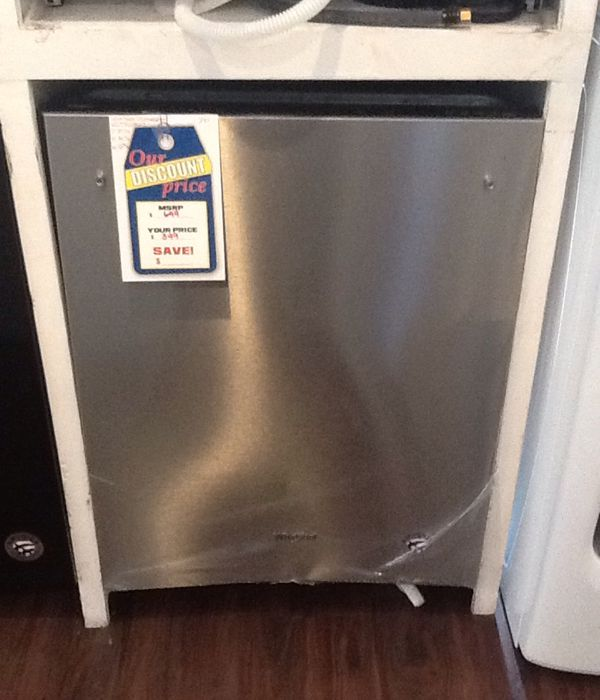New open box whirlpool dishwasher WDT730PAHZ