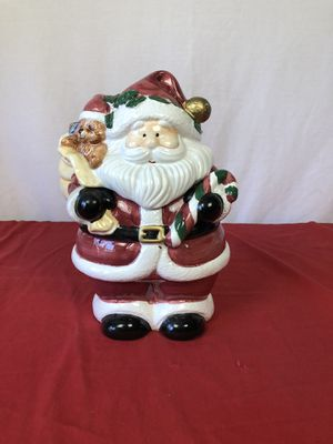 SANTA COOKIE JAR for Sale in Macon, GA