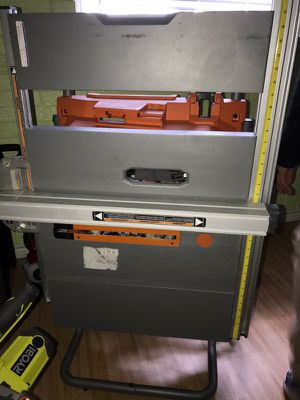Ridgid table saw for Sale in Austin, TX