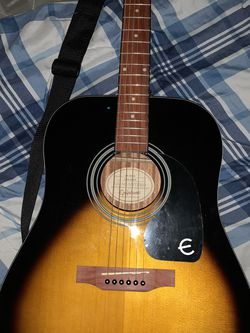 Epiphone Dr-100 Acoustic Guitar for Sale in Mesa,  AZ
