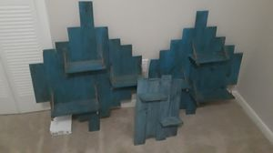 Reclaimed wood shelves for Sale in Auburndale, FL