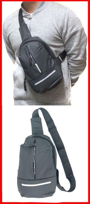 NEW! Super Light weight CrossBody Side Bag Sling Backpack messenger cell phone tablet holder wallet biking hiking school bag work gym bag sling chest for Sale in Carson, CA
